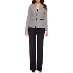 Le Suit Long Sleeve 2-Button Jacket Pant Suit