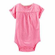 Oshkosh Pink Bodysuit - Baby