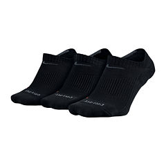Nike® 3-pk. Dri-FIT No-Show Socks - Big & Tall