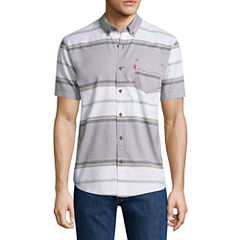 Levi's® Wayland Short Sleeve Button Up Shirt