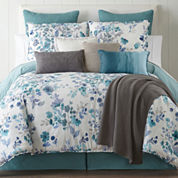JCPenney Home Clarissa 4-pc. Reversible Comforter Set & Accessories