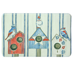 Bacova Guild Bird House Americana Rectangular Kitchen Mat