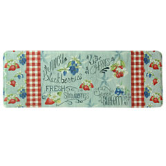 Bacova Guild Americana Berries Printed Rectangular Anti-Fatigue Rugs