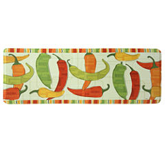 Bacova Guild Spicy Peppers Rectangular Kitchen Mat