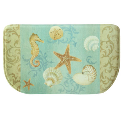 Bacova Guild Ocean Kitchen Wedge Kitchen Mat