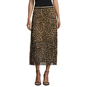 i jeans by Buffalo Pattern Pleated Skirt