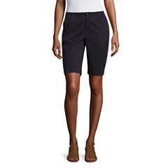 Liz Claiborne® Bermuda Shorts