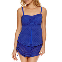 Aqua Couture Crochet Bandeau Swimsuit Top