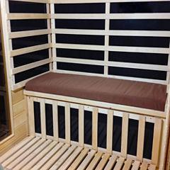 Radiant Saunas Seat Cushion For 2-Person Sauna