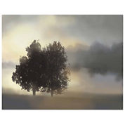 Tranquil Trees & Golden Pond I Canvas Wall Art