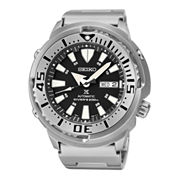 Seiko® Prospex Mens Stainless Steel Divers Automatic Watch SRP637