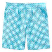 Okie Dokie® Print Bermuda Shorts - Toddler Girls 2t-5t