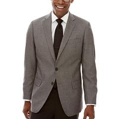 Claiborne® Black White Neat Sport Coat - Classic Fit