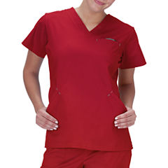 Bio Stretch Short-Sleeve Angle Top
