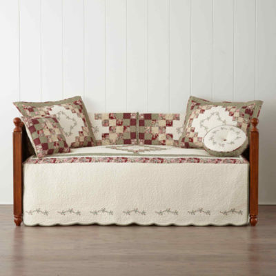 home expressions cassandra pieced daybed cover