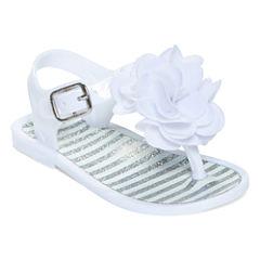 Okie Dokie® Girls Jelly Sandals - Baby Girls S-L