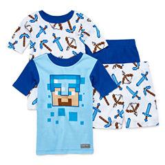 4-pc. Minecraft Pajama Set Boys