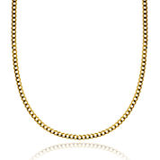 14K Yellow Gold 3.15 MM Curb Necklace 22