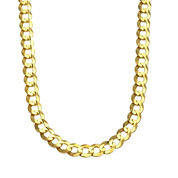 10K Gold 28 Inch Chain Necklace