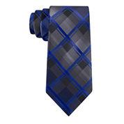 J.Ferrar Ombre Grid Slim Tie