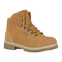 Lugz® Pine Ridge Mens Slip and Water Resistant Lace-Up Boots