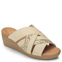 A2 by Aerosoles Flower Power Womens Wedge Sandals