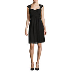 Scarlett Sleeveless Empire Waist Dress
