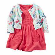 Carter's Long Sleeve Babydoll Dress - Baby