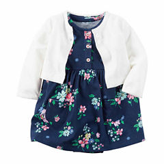 Carter's Cardigan & Dress Set