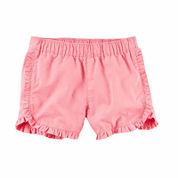 Carter's Girls Pull-On Shorts