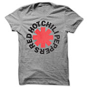 Red Hot Chili Peppers Graphic T-Shirt- Juniors