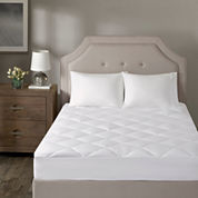 Madison Park Signature Avalon 1000tc Cotton Blend Quilted Temperature Regulating Mattress Pad