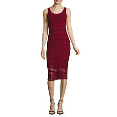 Belle + Sky Perforated Bodycon Dress