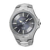 Seiko® Coutura Mens Stainless Steel Solar Bracelet Watch