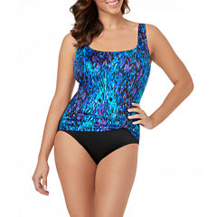 Le Cove Solid One Piece Swimsuit
