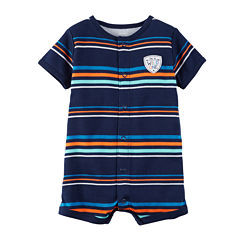 Carter's Baby Navy Stripe Creeper - Baby
