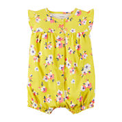 Carter'S  Yellow Floral Creeper - Baby