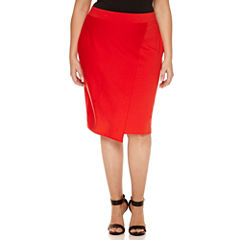 Belle + Sky Pencil Skirt Plus