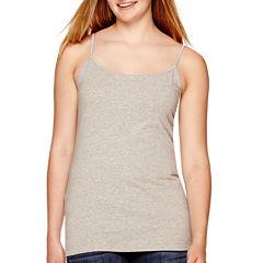 Arizona Favorite Stretch-Cotton Cami - Juniors Plus
