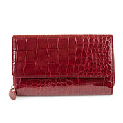 Mundi Big Fat Wallet Cactus Croco