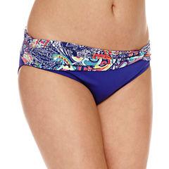 Liz Claiborne Paisley Hipster Swimsuit Bottom