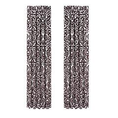 Queen Street Sabrina Rod-Pocket Curtain Panel