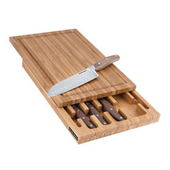 Hamilton Beach 5-pc. Knife Block Set