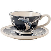 Fitz and Floyd® Bristol Floral Cup and Saucer