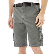 Plugg® Enclave Belted Cargo Shorts