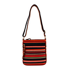 Bueno Nylon Zip Crossbody Bag