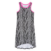 Total Girl® Racerback High-Low Hem Dress - Girls 7-16