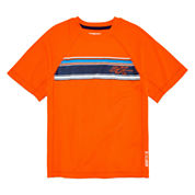 Zero Xposur® Short-Sleeve Striped Rash Guard - Boys 8-20