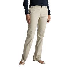 Dickies® Womens Slim Stretcg Bootcut Pants - Long