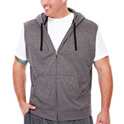 The Foundry Supply Co.™ Sleeveless Training Fleece Hoodie Shirt - Big & Tall